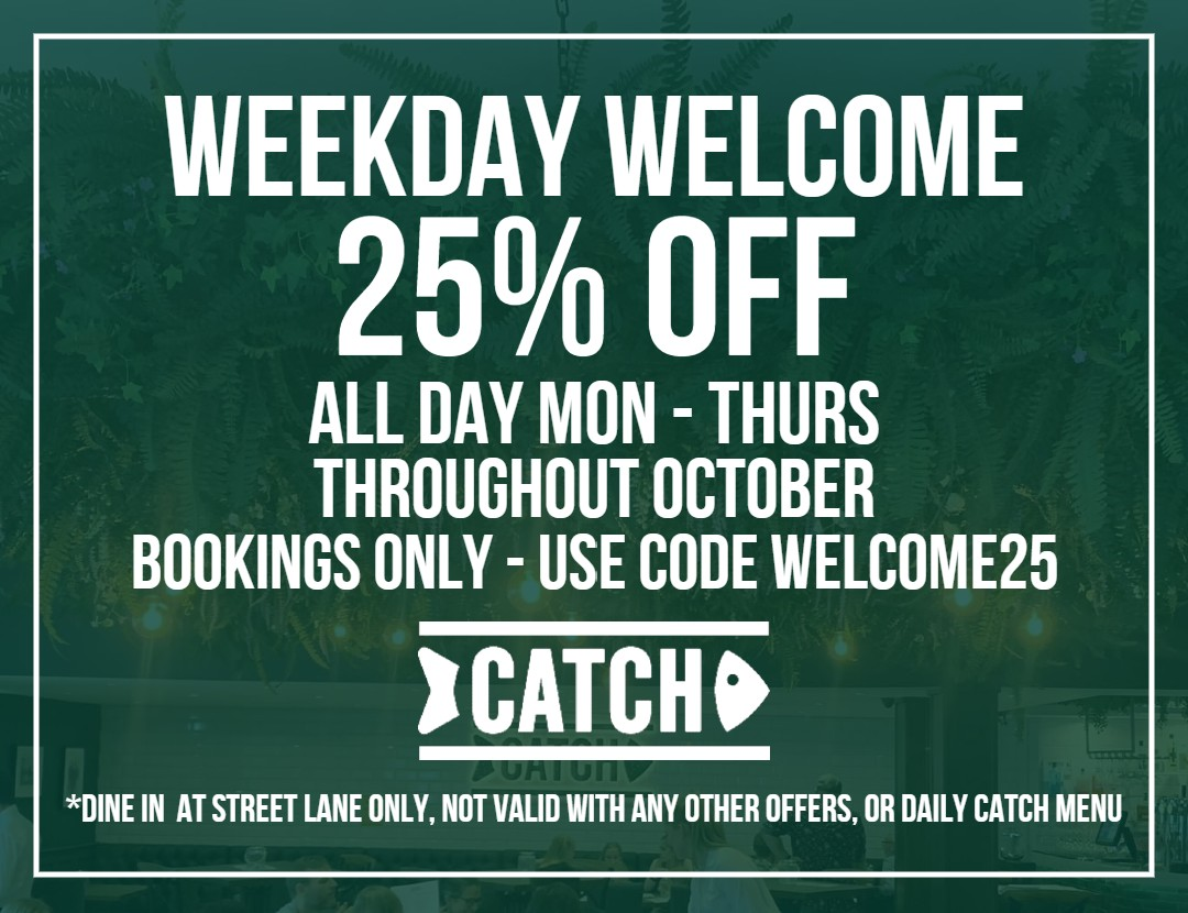 weekday welcome offer